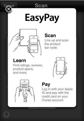 EasyPay, función de la App Store